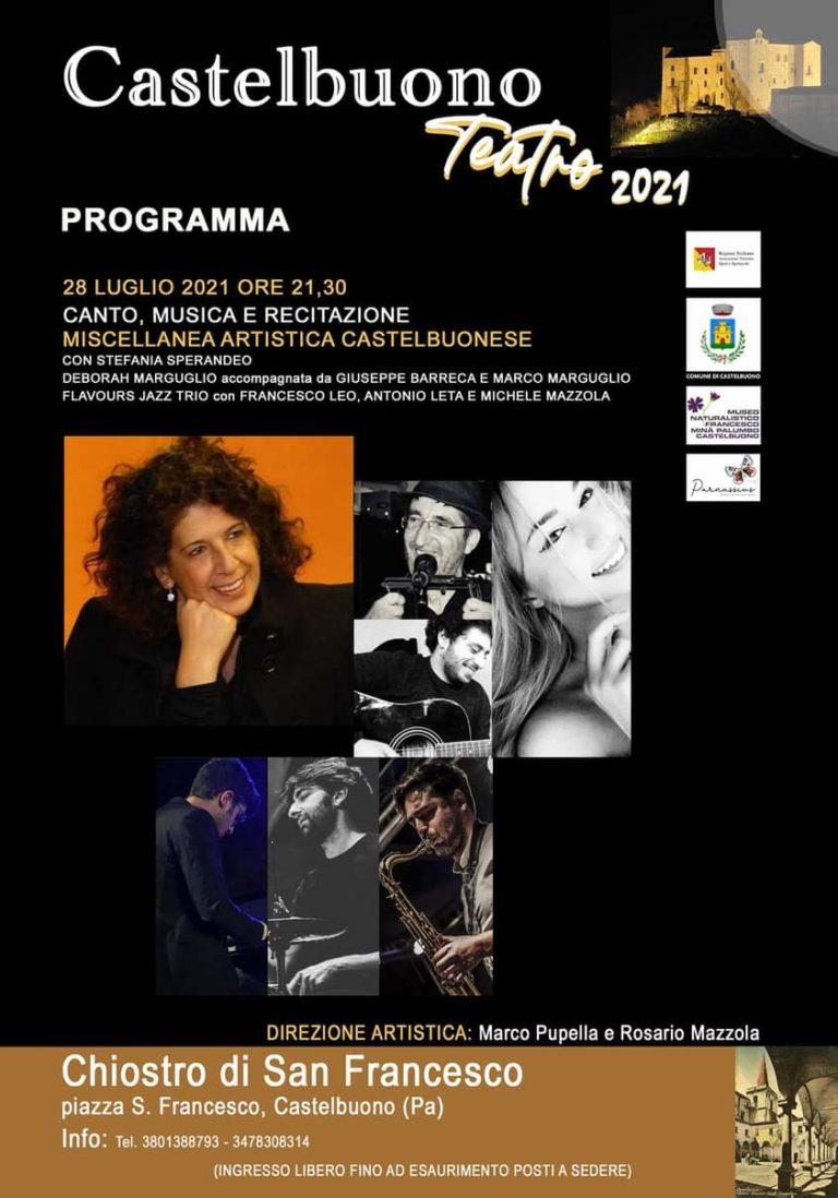 """Castelbuono,torna la rassegna """"Castelbuono Teatro 2021"""""""
